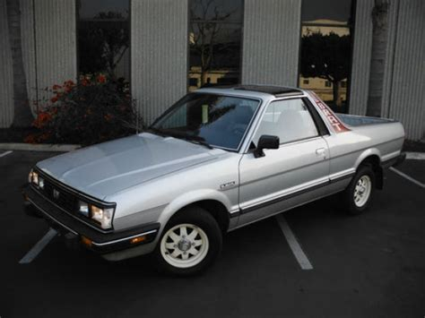 subaru brat for sale craigslist 43k mile 1986 subaru brat bring a trailer