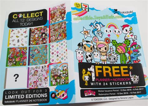 7 Eleven Malaysia Gift Card - tokidoki planner x notebook by 7 eleven malaysia collectible