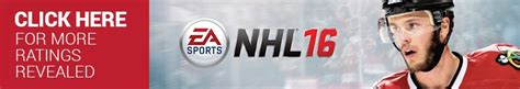 Play Store Order By Rating Nhl 16 Player Ratings Top 10 Goalies