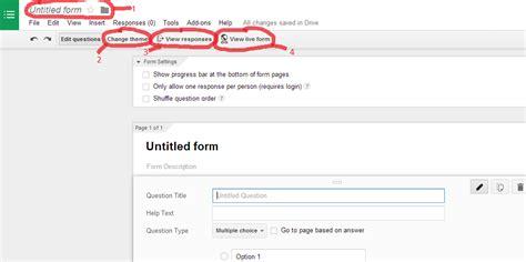 cara membuat form kuesioner cara membuat kuesioner atau form online dengan google