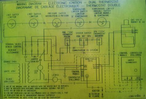 hayward heaters h series wiring diagram get free image