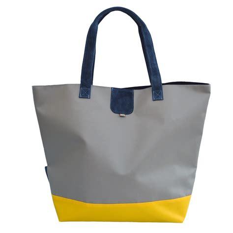 Pvc Tote Bag recycled pvc striped tote bag