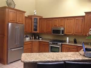 Staining Oak Kitchen Cabinets by Oak Kitchen Cabinets Help What To Do Stain Or Paint