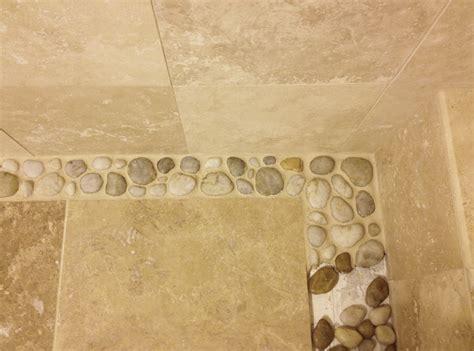 25 best ideas about river rock shower on pinterest river rock shower floor river rock tile for shower floor
