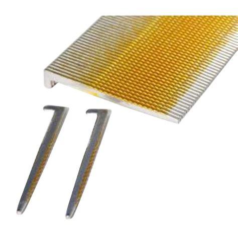 stainless steel floor l porta nails 2 in x 16 gauge stainless steel l head