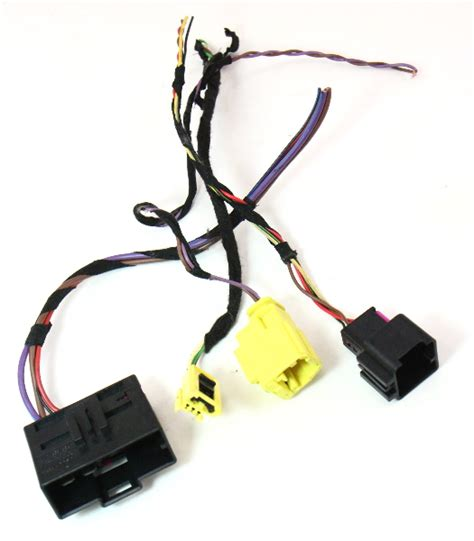 rh heated seat wiring harness pigtail plugs connectors 05