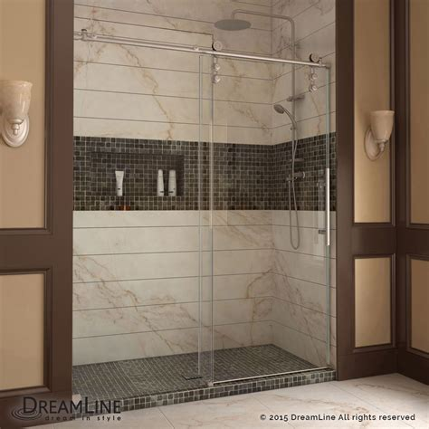 Dreamline Frameless Sliding Shower Door Dreamline Shdr 6260760 Enigma Z 56 60 Frameless Sliding Shower Door Homeclick