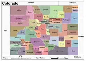free colorado counties map counties map of colorado