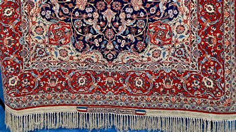 Rug Appraisal by Seirafian Isfahan Rug Ca 1960 Antiques Roadshow Pbs