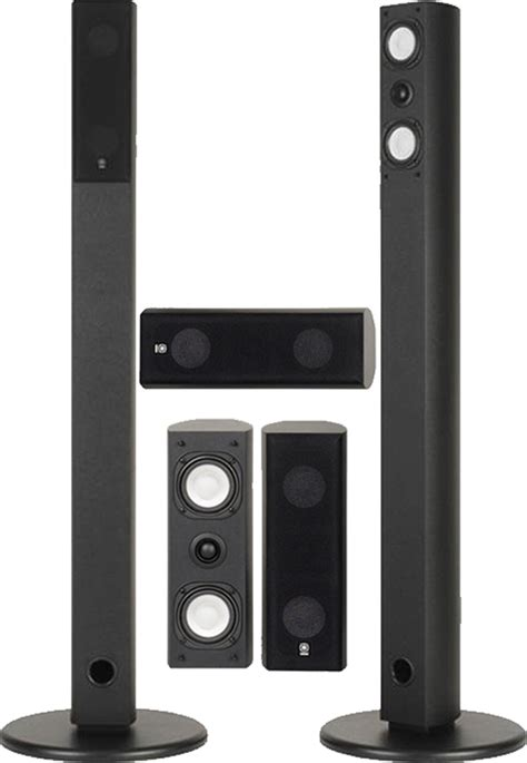 yamaha ns ap7800 5pc home theater speaker package black