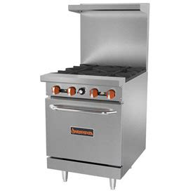 commercial appliances gas electric ranges