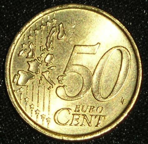 50 buro cent coin of 50 cent 2002 from italy id 2168