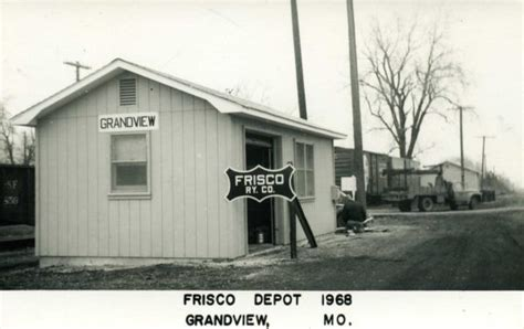 grandview missouri depot 187 frisco archive