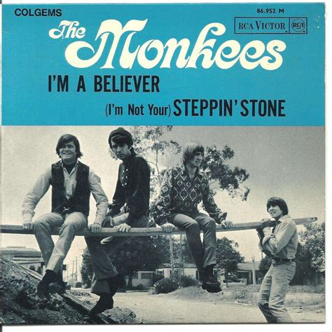 i m i m believer by monkees the 7inch x 1 with sim3147