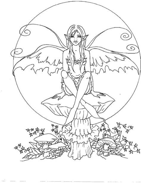 elf fairy coloring pages amy brown amy brown fairies and cute coloring pages on