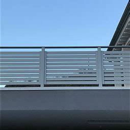 ringhiera in alluminio alba srl cancelli recinzioni e ringhiere in alluminio