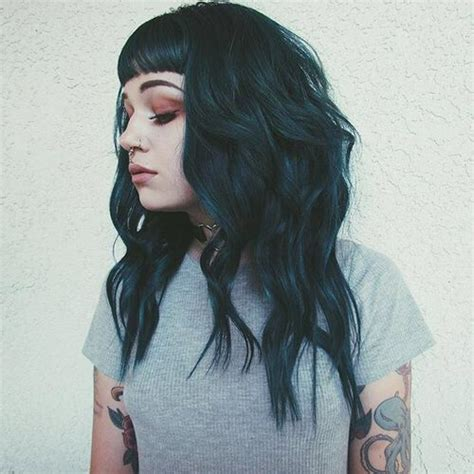 old goth bangs hairstyle 25 best ideas about grunge haircut on pinterest short