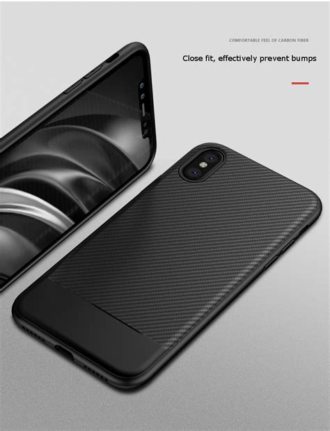 Shockproof Carbon Fiber Soft Tpu For Iphone 5 Berkualitas ultra thin shockproof carbon fiber soft tpu for iphone x 5 8 inch alex nld
