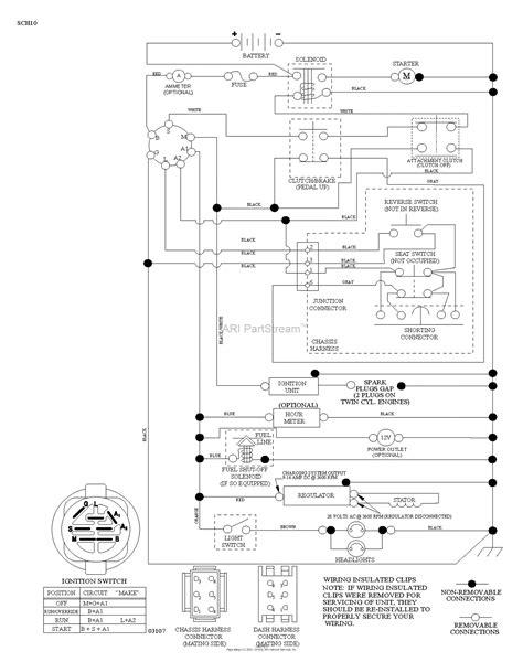 husqvarna ythk    parts diagram  schematic