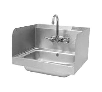 100 kitchen sink splash guard advance tabco 7 ps advance tabco 7 ps 17 7 75 quot tall side splash for hand