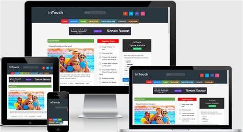 50 best responsive blogger templates premium 2016