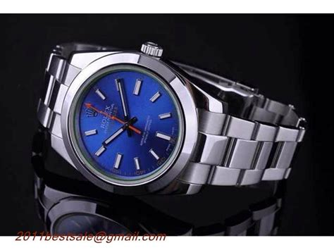 Ultimate Replica Rolex Milgauss Blue Electric rolex oyster perpetual milgauss blue