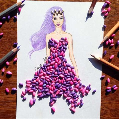 fashion illustration with food 73 best images about edgar artis diy clothes