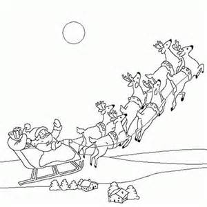 reindeer flying coloring pages cooloring com
