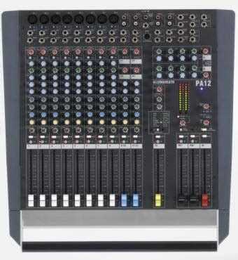 Allen Heath Mixer Live Pa28 allen heath to launch 7 products at plasa 2003