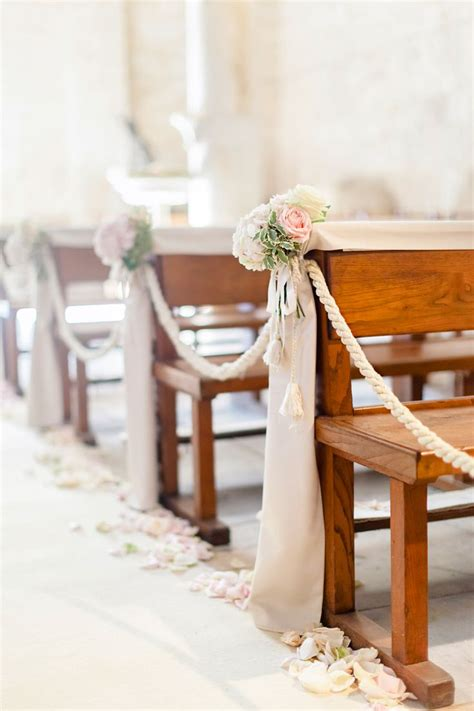 wedding bench decorations 17 best ideas about church wedding decorations on