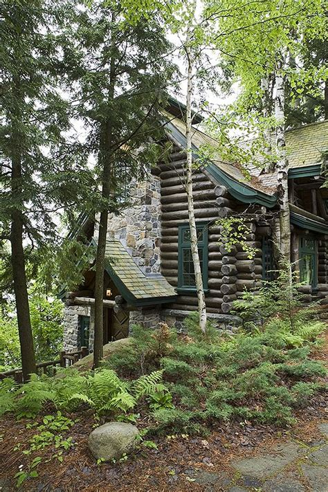 log cabin lets make this house into a home pinterest adirondack custom handcrafted log homes by maple island