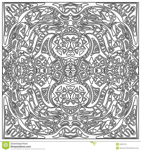 zentangle pattern tribe tribal coloring zentangle stock illustration image 55330118