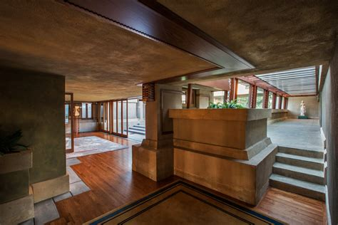 Formal Dining Room Set by A Full Tour Through Frank Lloyd Wright S First La House
