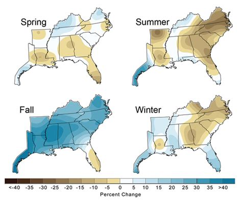 weather map of southeast united states southeast region climate map quotes