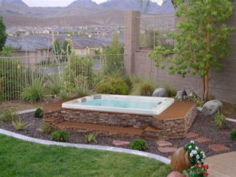backyard spa designs back yard spa design ideas inground