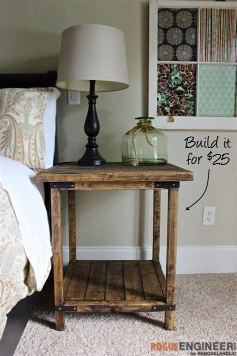 simple square side table  diy plans simple