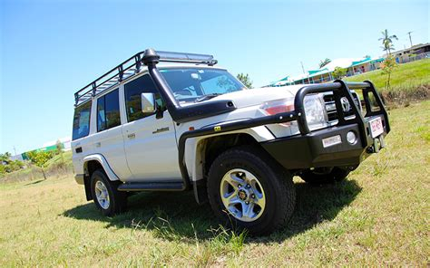 T Racks Black 76 by Steel Roof Rack Suit Toyota Landcruiser 76 Series Black