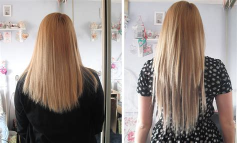 before and after clip on extensions short hair clip in hair extensions for short hair before and after
