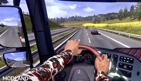 mod game ets 1 hands on steering wheel v1 0 mod for ets 2
