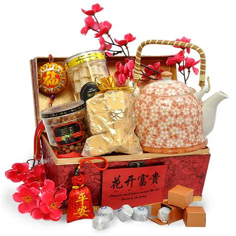 affluence teapot chinese new year gift