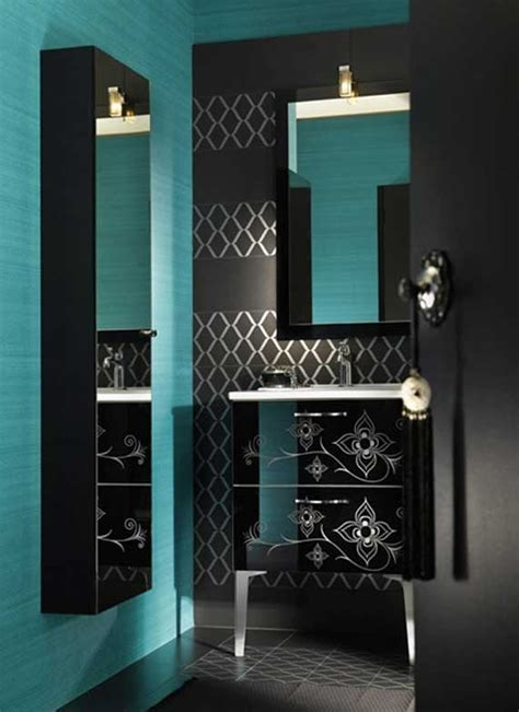 black and blue bathroom ideas 17 best ideas about teal bathrooms on teal