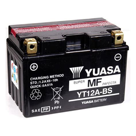 Baterai Yuasa jual baterai yuasa yt12a bs maintenance free kawasaki er6 suzuki g