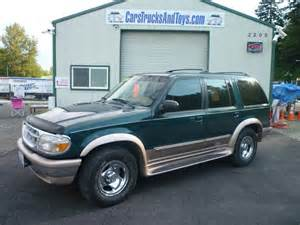 1996 ford explorer eddie bauer edition photo picture