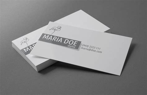 personal card template personal stylist business cards free template free vector