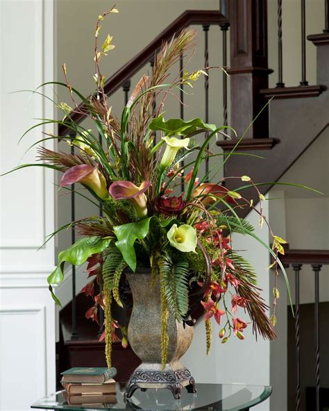silk arrangements for home decor best 25 silk floral arrangements ideas on pinterest