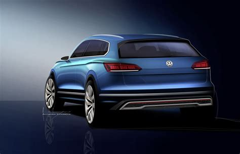 volkswagen electric concept vw electric suv concept coming to shanghai show to preview