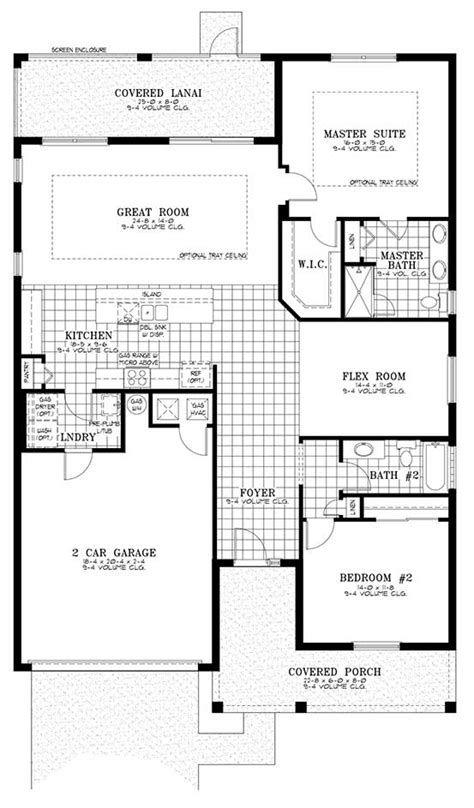world floor plans house plans at on top of the world retirement community ocala fl