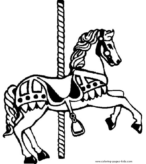 the gallery for gt merry go round coloring page