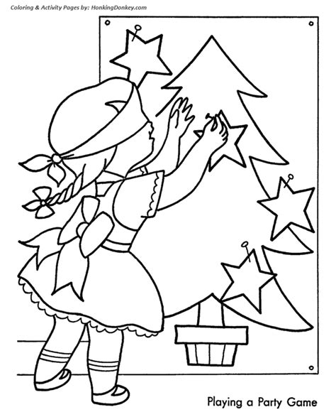 christmas coloring pages games free coloring pages christmas party coloring pages fun
