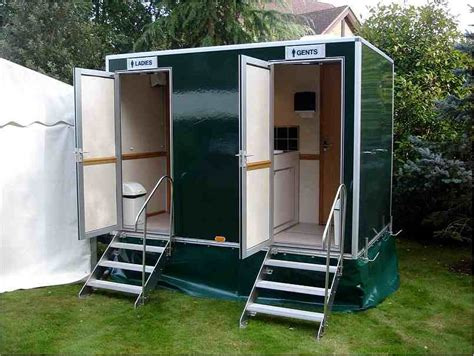 bathrooms for outdoor weddings wedding toilet hire in just one call